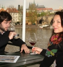 Oběd na lodi - Praha
